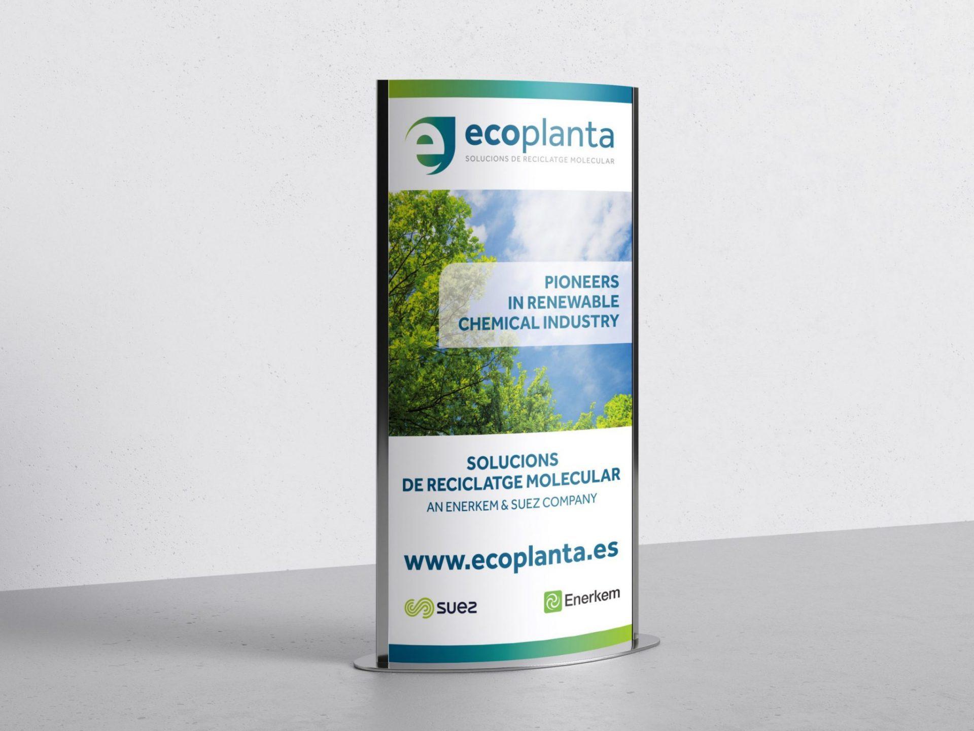 Rollup para Ecoplanta.