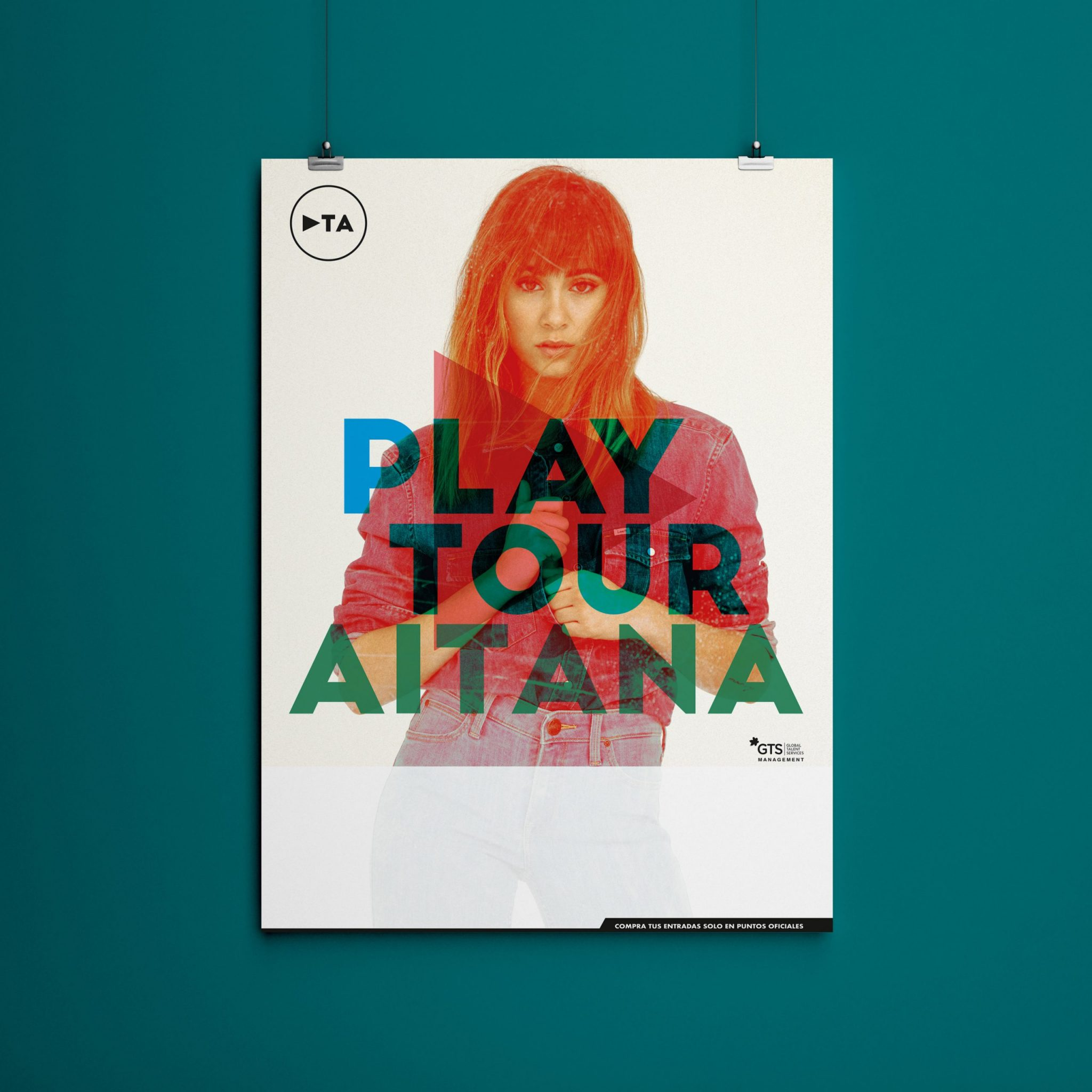 Cartel Aitana Gira Play Tour