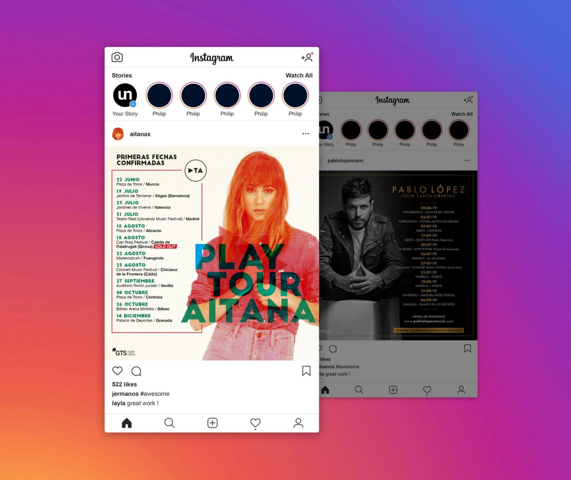 Aplicació Xarxes Socials Aitana i Pablo López