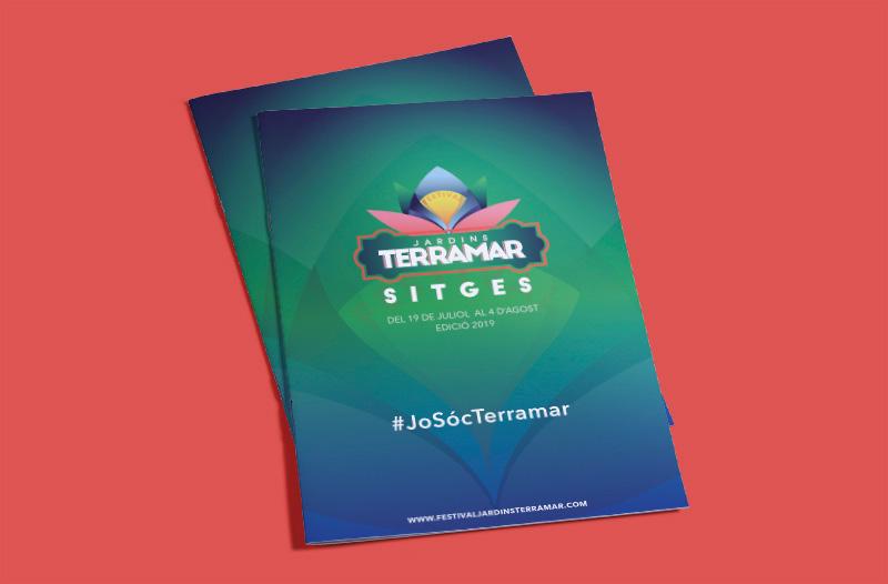 Jet Festival Terramar folleto portada