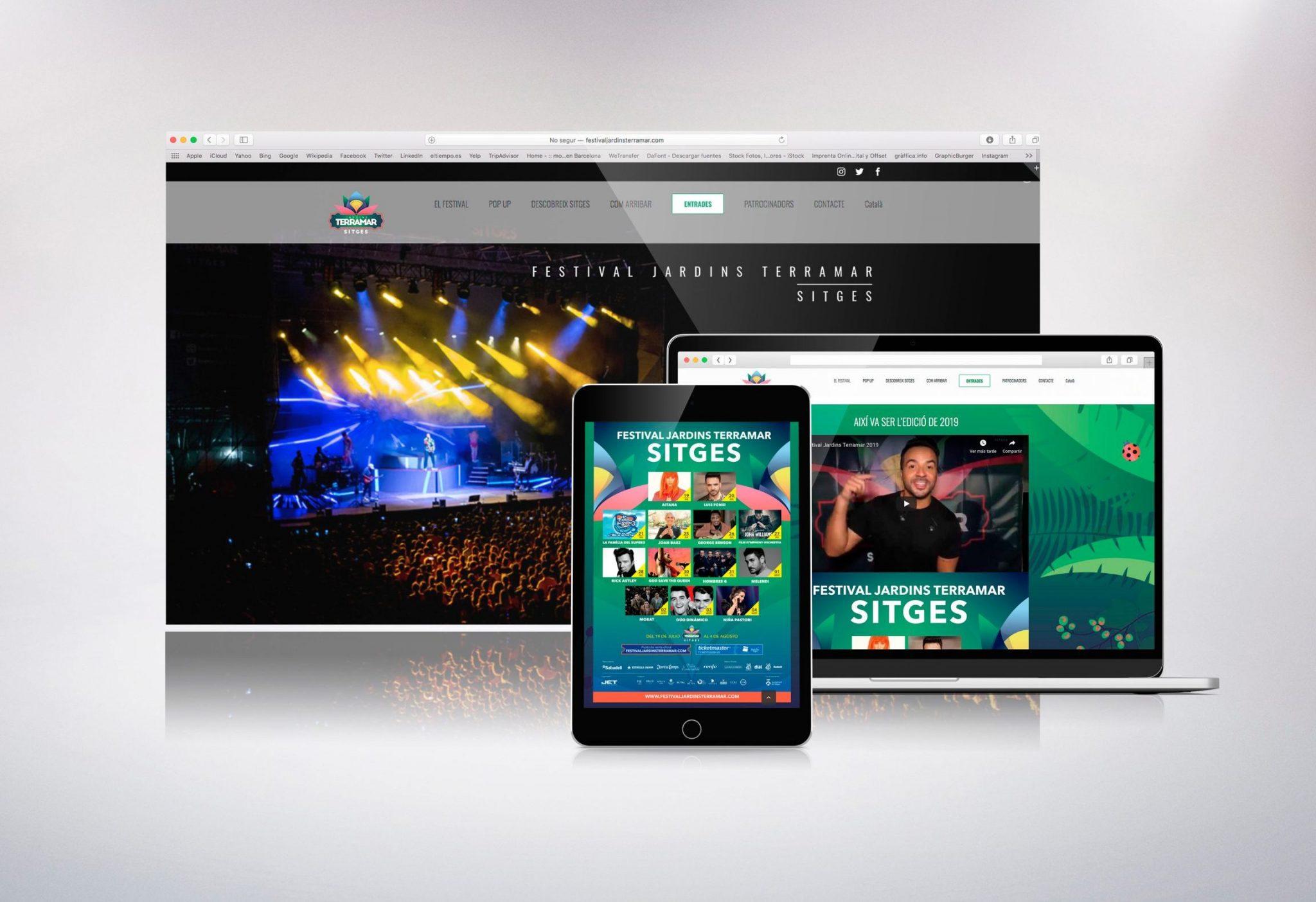Web Festival Terramar de Sitges 2019