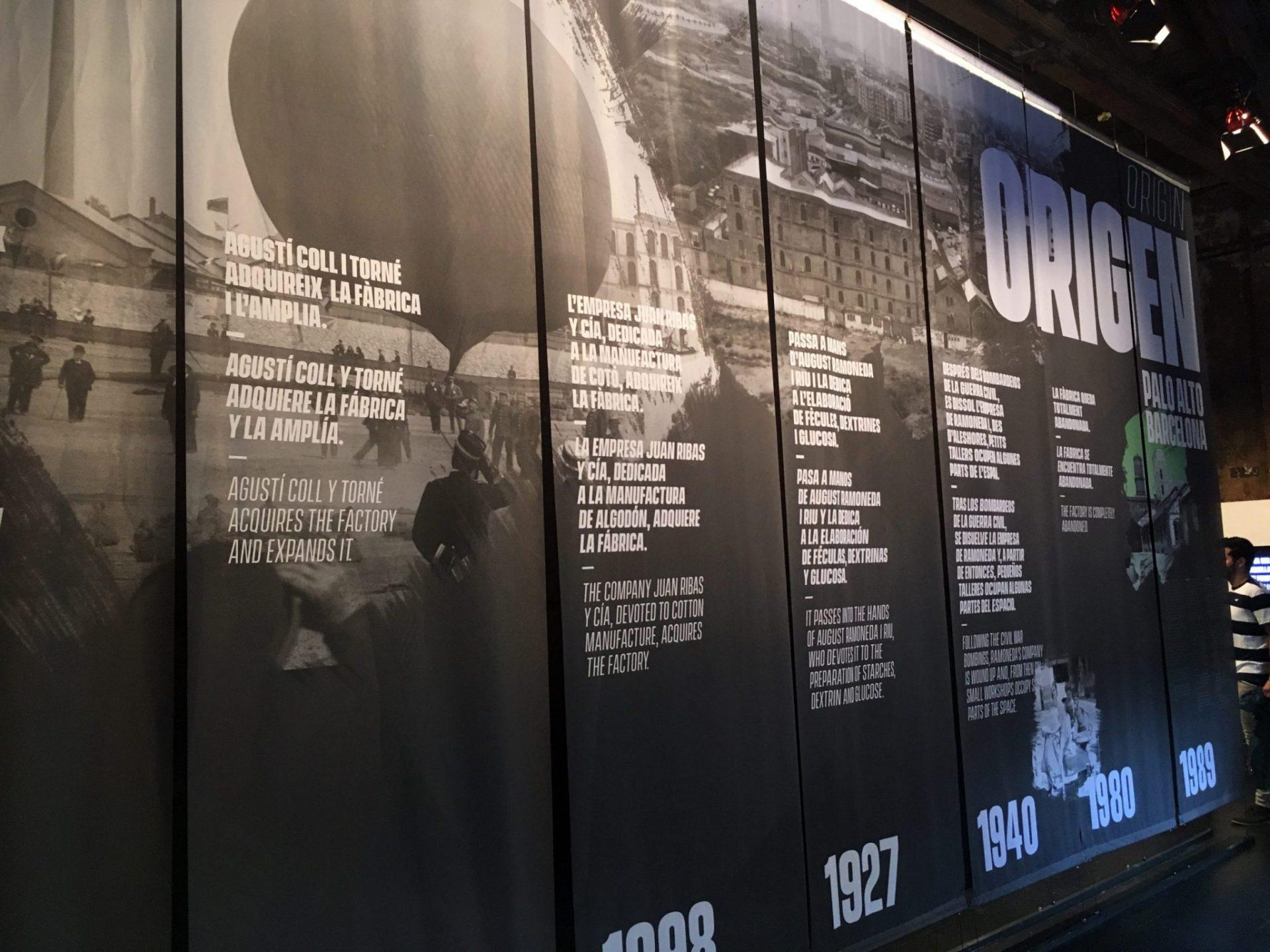 Exposición Aniversario Palo Alto Barcelona
