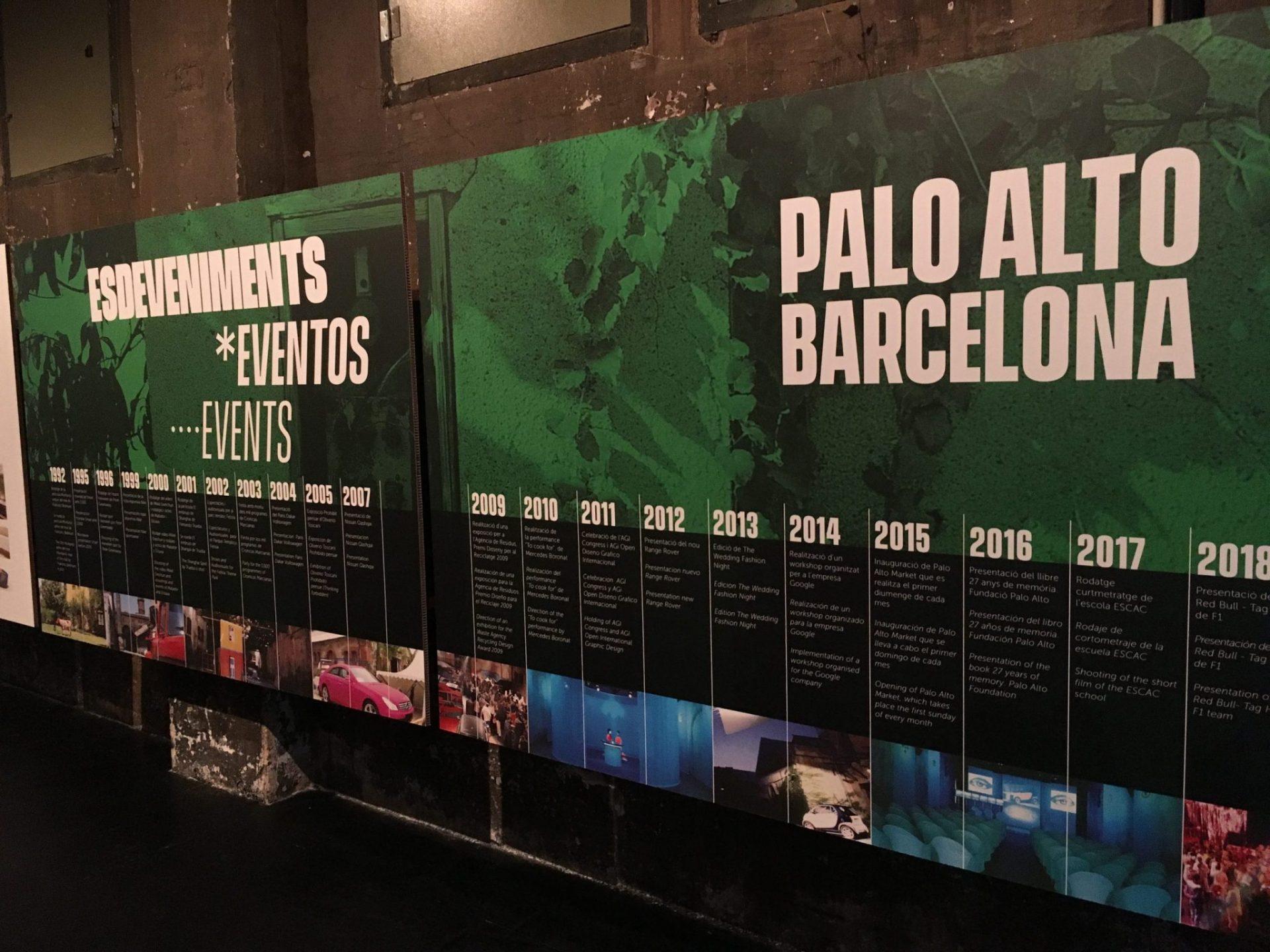Exposició Aniversari Palo Alto Barcelona