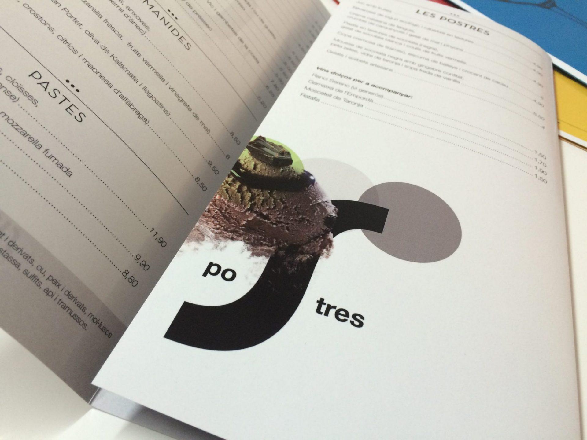 Carta Restaurante Simultani