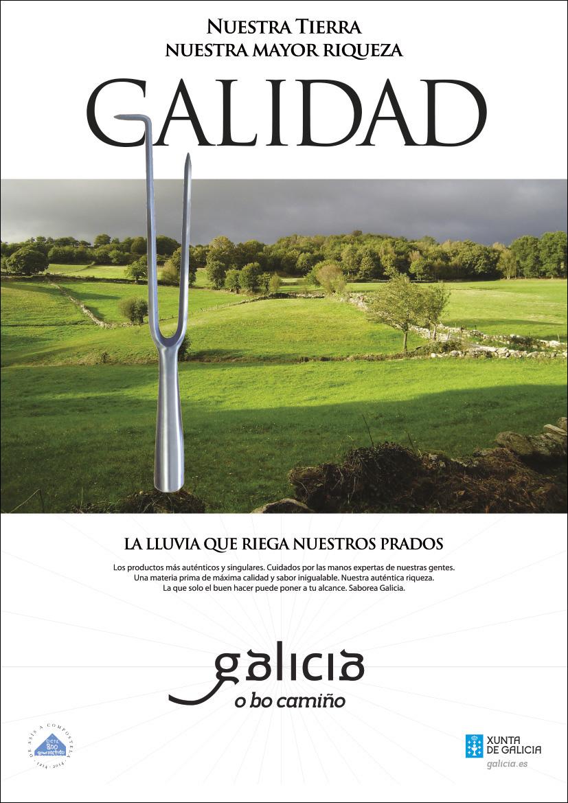 Creatividad para campaña Productos gallegos