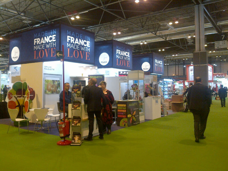 Stand Made in France realizado