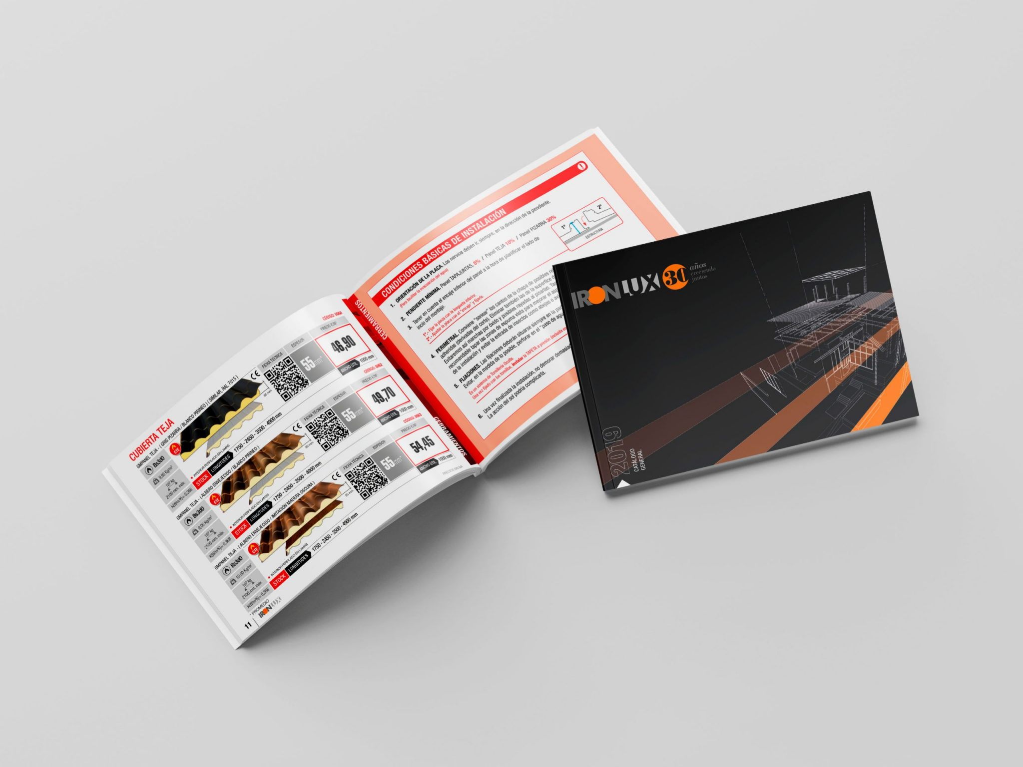 Catálogo/tarifa 2020