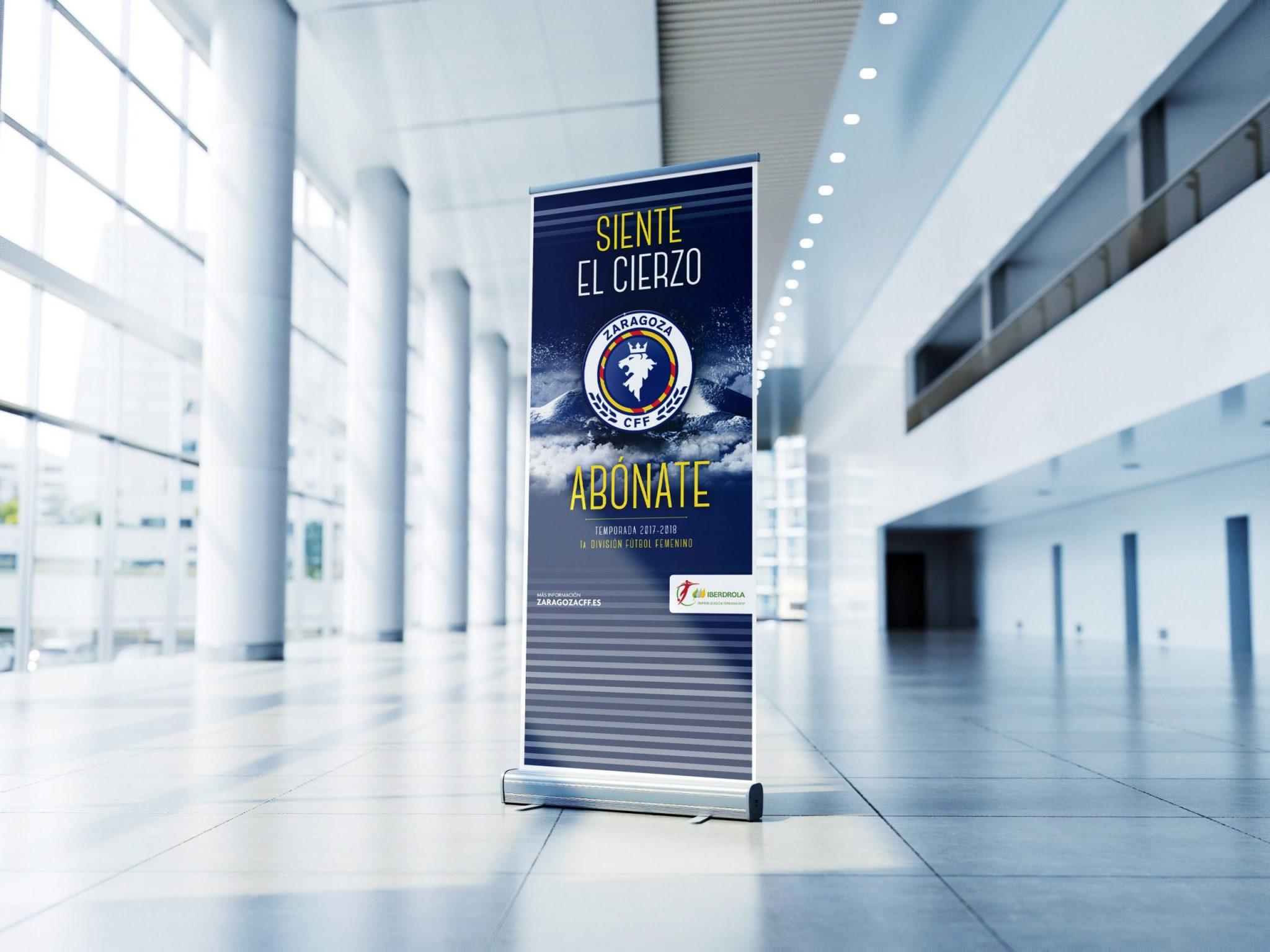 Campaña abonos Zaragoza CFF
