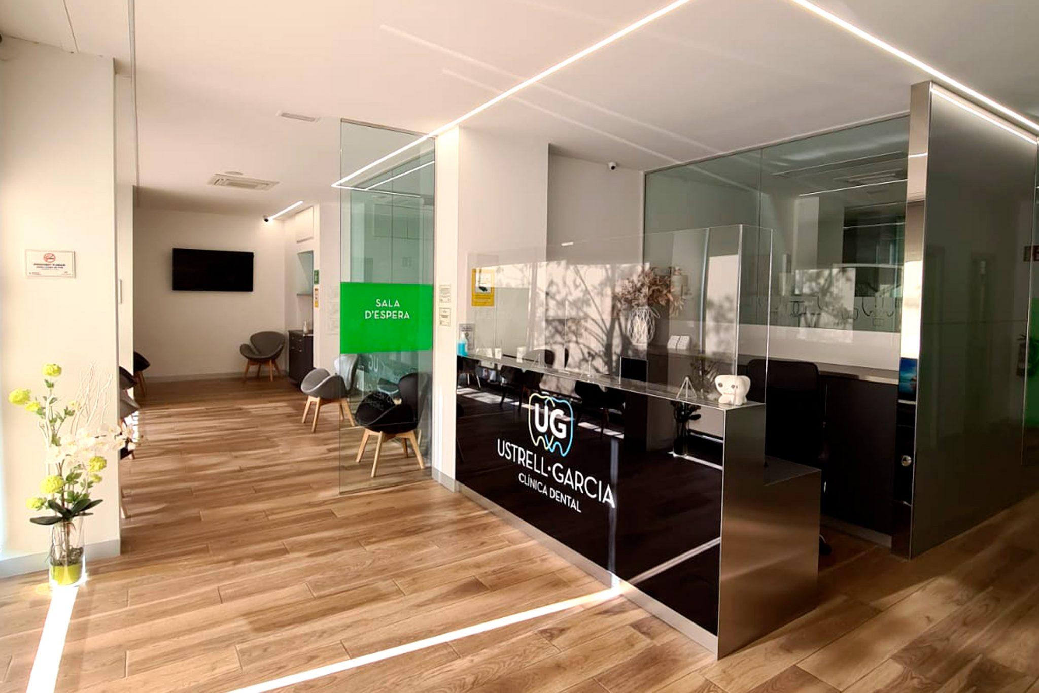 Diseño de imagen interior Clínica dental de Mataró